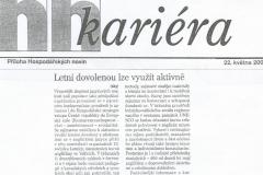 Hospodářské noviny, 2000